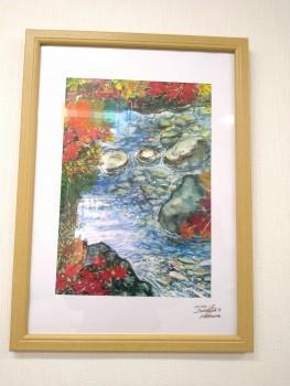 送迎担当今泉さんの秋の風景画 新作です。